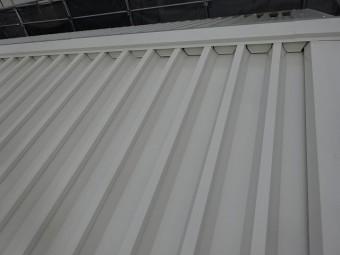 明るい色の屋根塗装例別角度 ホワイトアッシュ