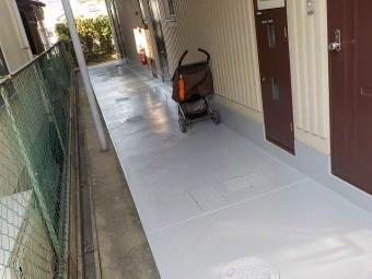 土間塗装完了