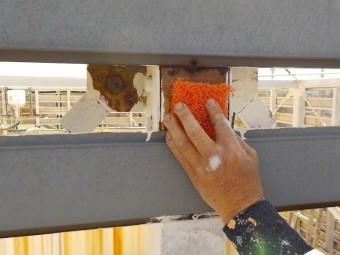 駅前ビル 塗装工事