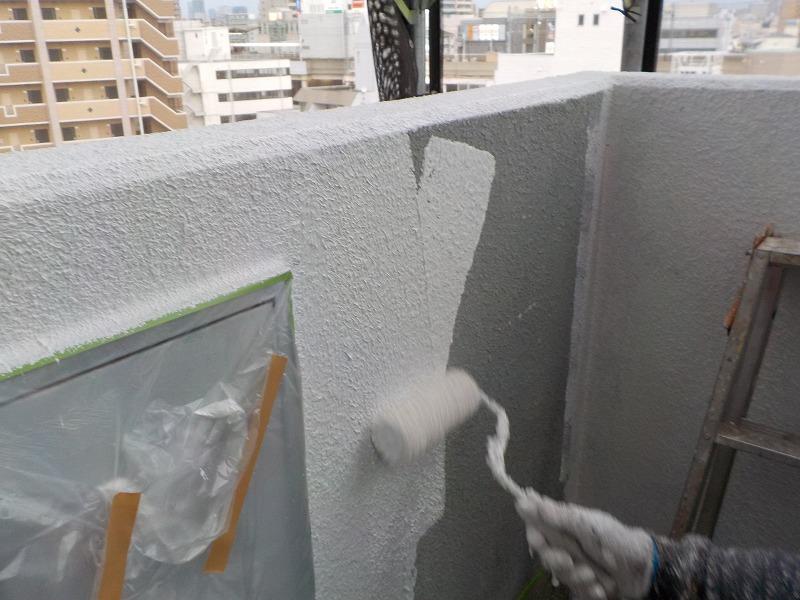 駅前ビル 外壁塗装