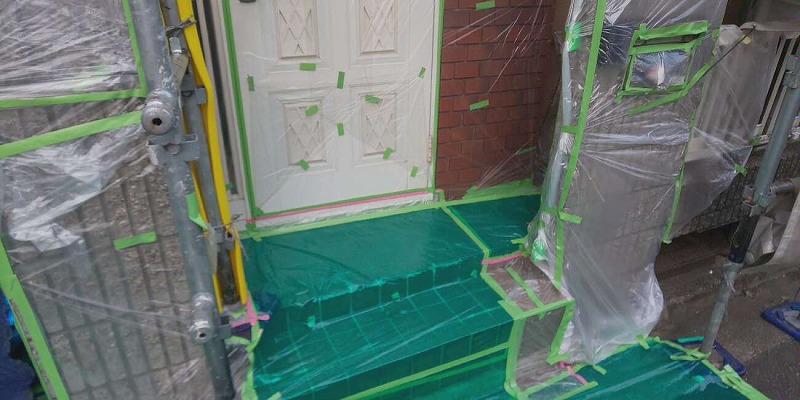 羽曳野市にて外壁の劣化具合が激しく外壁塗装しました