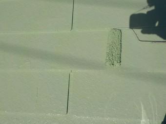 スレート屋根塗装上塗り