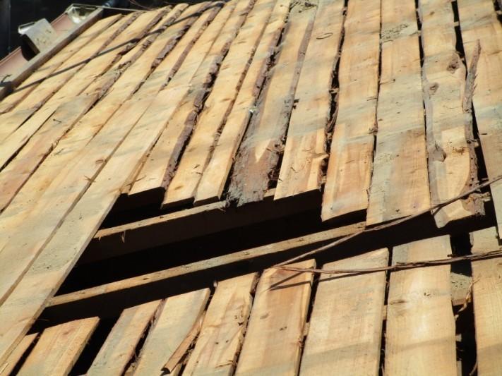 屋根の野地板2