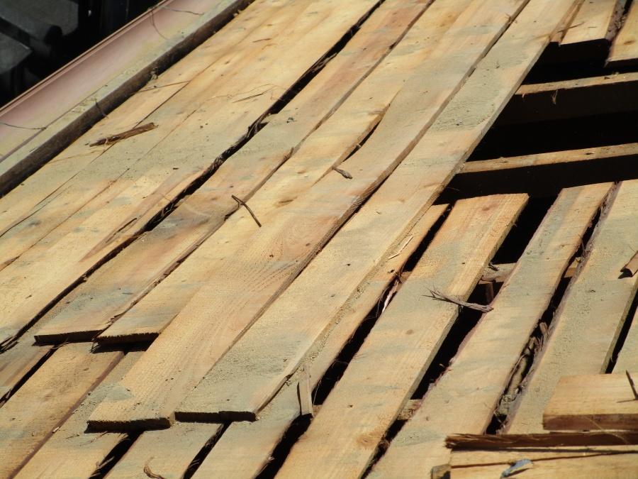 屋根の野地板