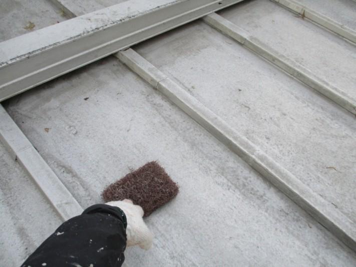 瓦棒屋根 雨漏り補修
