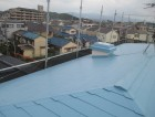 屋根塗装完了2