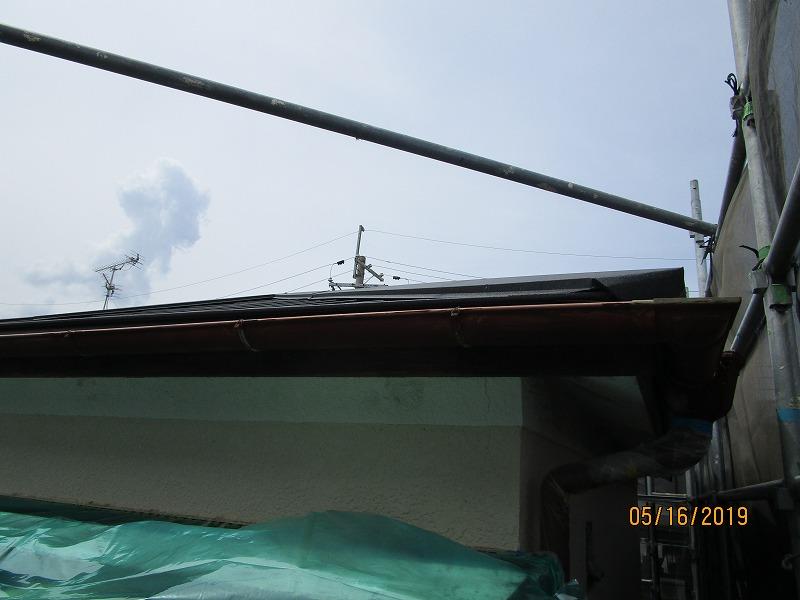 屋根金属壁塗装