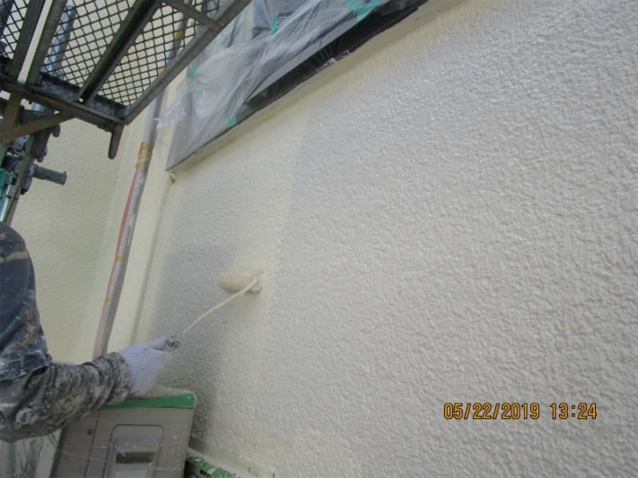外壁塗装上塗り2