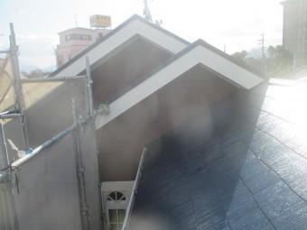 屋根塗装後2