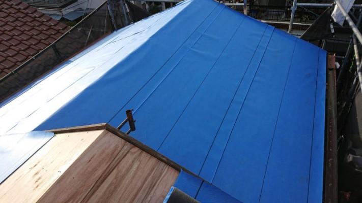 屋根の防水シート