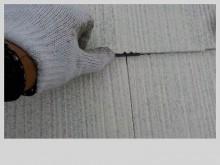 スレート屋根のタスペーサー挿入