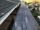 ベランダ屋根の波板交換