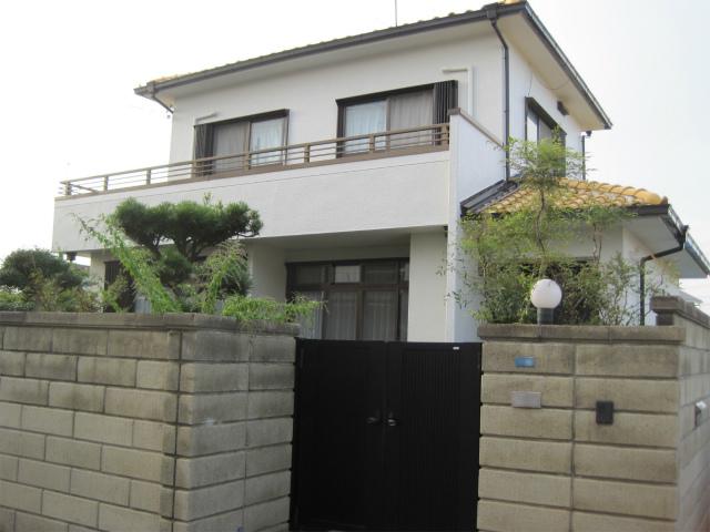 防水工事後の家