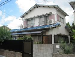 屋根の葺き替え前