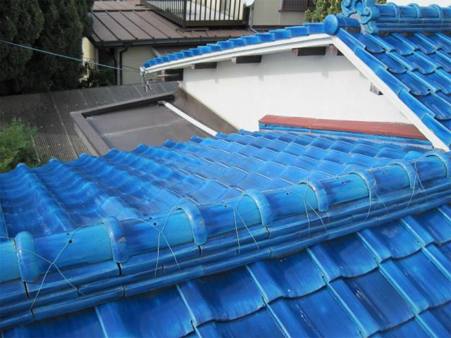 日本瓦の屋根