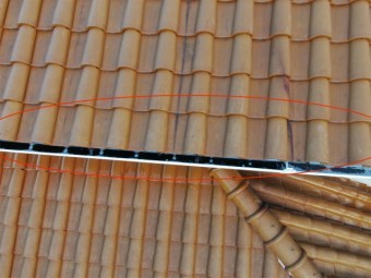屋根の唐草