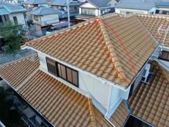 屋根の隅棟