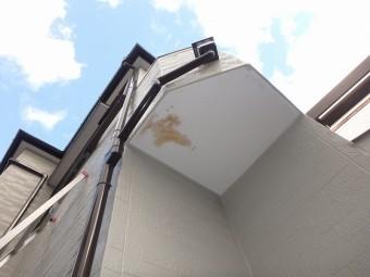塗装後の雨漏り再発