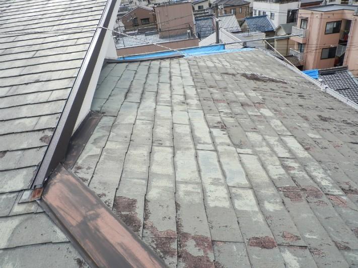 薄型スレート屋根