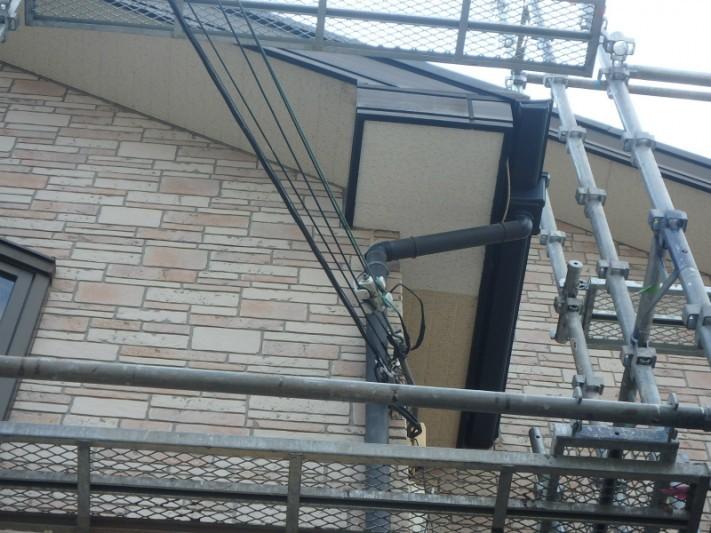 軒天板補修工事3