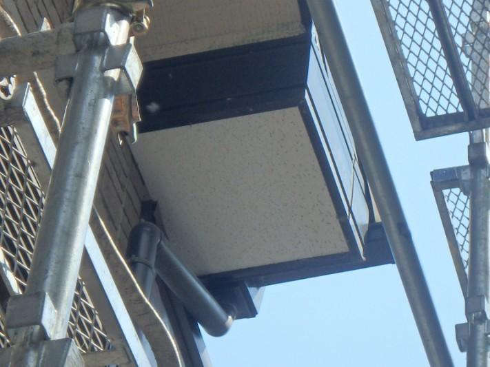 軒天板補修工事1