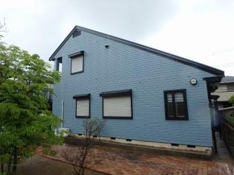 ヘーベルハウス 塗装完了