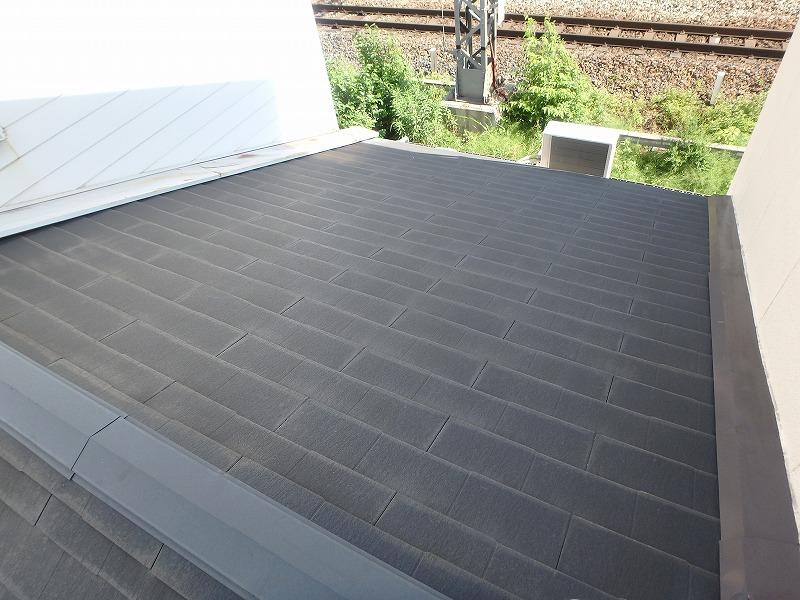 裏面の屋根