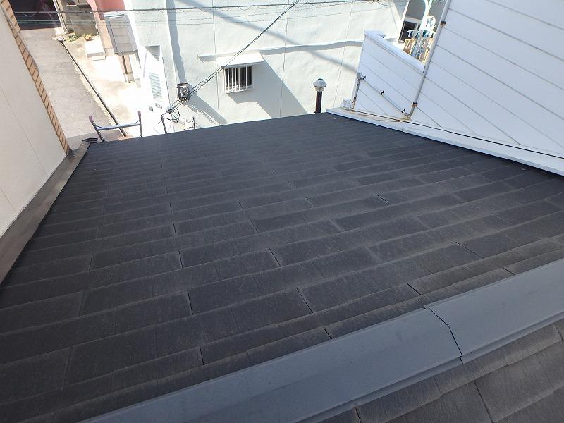 ハシゴで上れる屋根