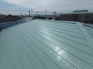 大屋根塗装完了
