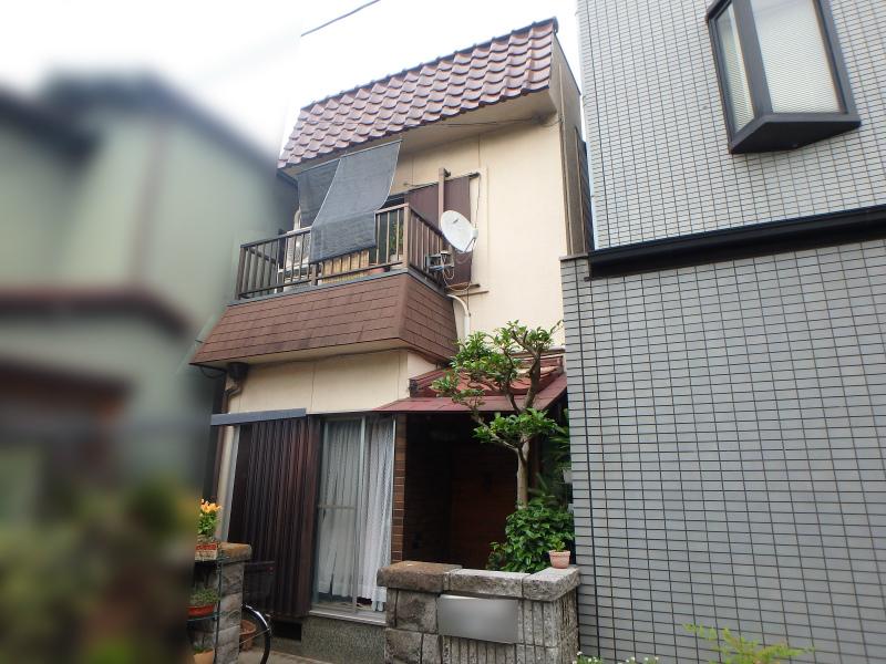阿倍野区の屋根補修の家