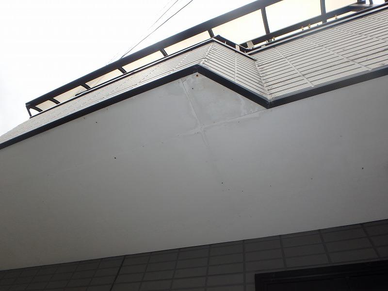 軒天のケイカル板