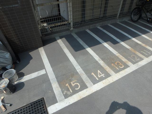 駐輪禁止 表示ペイント