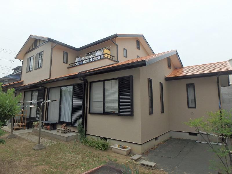 三井ホーム 塗装完了