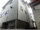 松原市の三階建て住宅の外壁調査