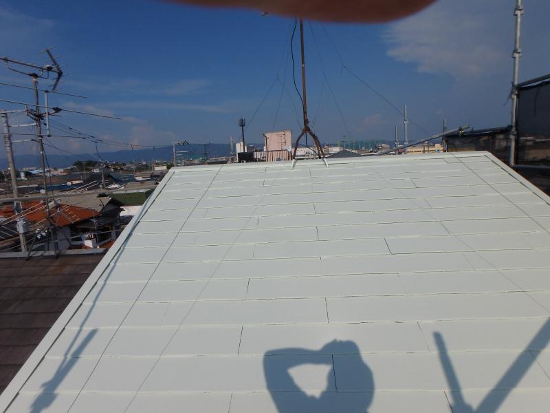 スレート屋根の塗り替え