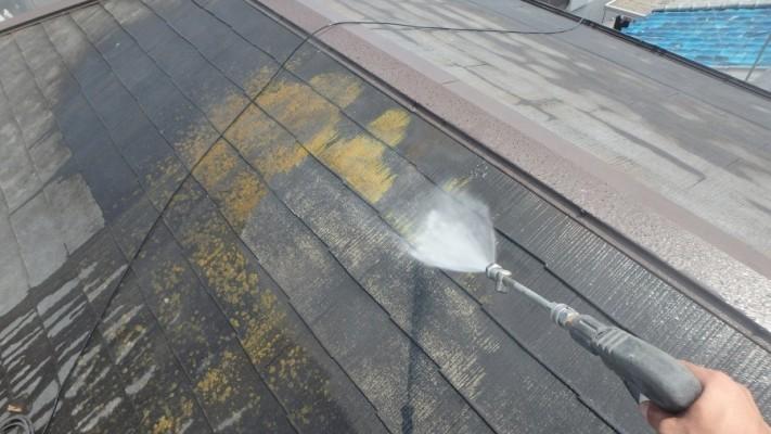 塗装前高圧洗浄