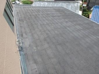 スレート屋根の劣化状態