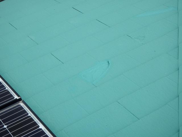 大屋根の修理