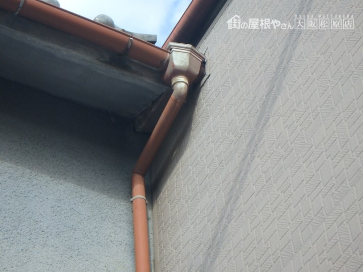 隣家との間からの雨漏り
