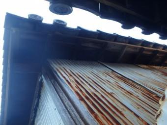 樋がない為外壁が劣化