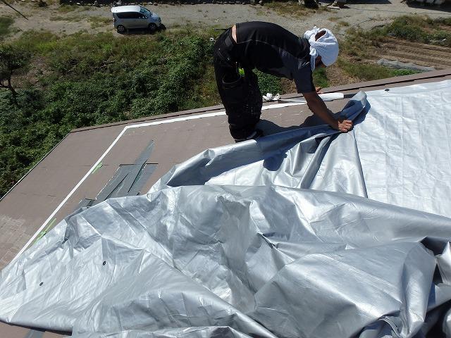 屋根点検 応急処置