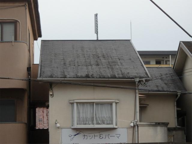 屋根施工前(全体)