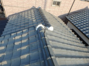 屋根工事後の点検