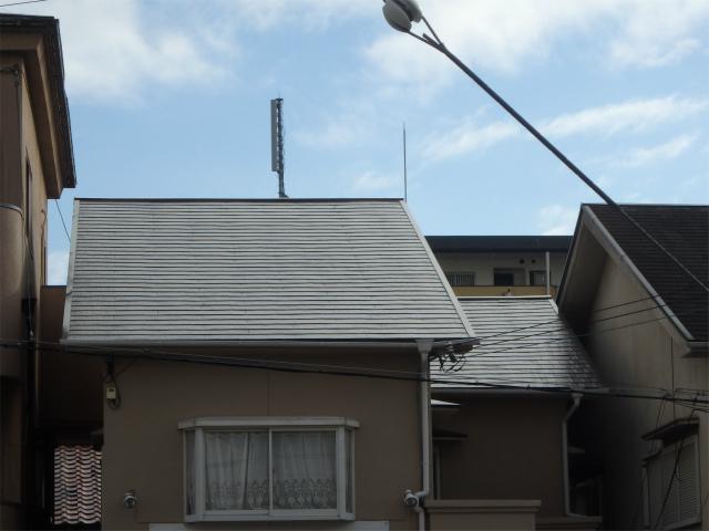 屋根塗装完成(全体)