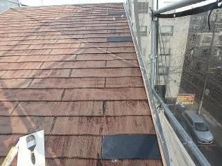 屋根の交換完了