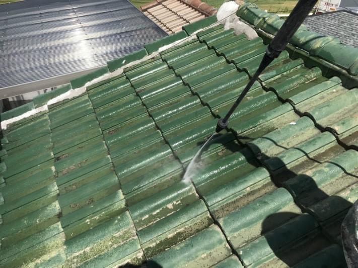 屋根補修工事1
