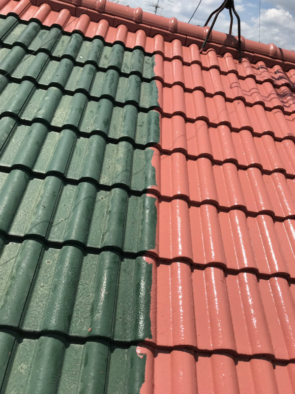 屋根補修工事2