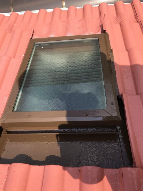 屋根補修工事4