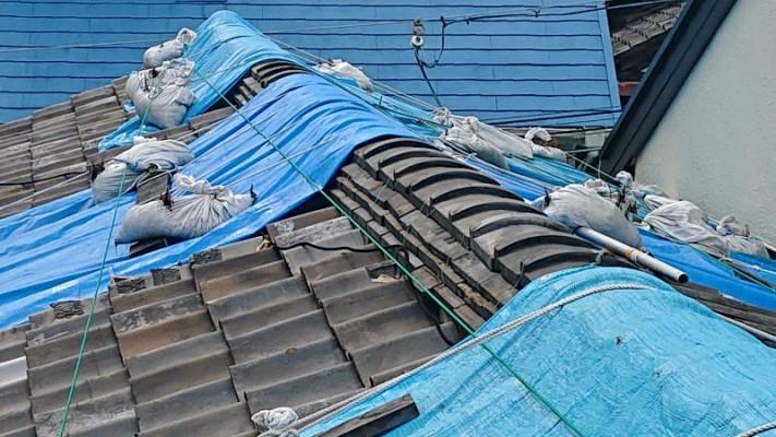 屋根瓦点検3