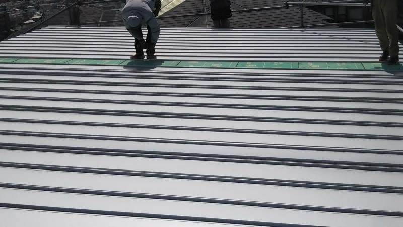 日本瓦の葺き替え